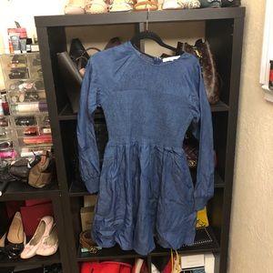 English Factory Denim Dress